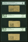 Colonial Notes:New Jersey, New Jersey October 20, 1758 Trio.... (Total: 3 notes)