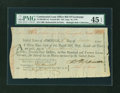 Colonial Notes:Continental Congress Issues, Continental Loan Office Bill of Exchange Fourth Bill- $24 Sept. 18, 1779 Anderson US-96/MD-4A. PMG Choice Extremely Fine 45 EP...