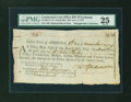 Colonial Notes:Continental Congress Issues, Continental Loan Office Bill of Exchange Fourth Bill- $24 Nov. 8,1779 Anderson US-96/CT-1A. PMG Very Fine 25....