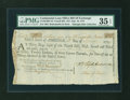 Colonial Notes:Continental Congress Issues, Continental Loan Office Bill of Exchange, Fourth Bill- $12 Sept.18, 1779 Anderson US-94/MD-4A. PMG Choice Very Fine 35 EPQ....