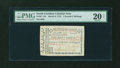 Colonial Notes:South Carolina, South Carolina March 6, 1776 £2/5s PMG Very Fine 20 NET....