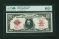 Large Size:Legal Tender Notes, Fr. 123 $10 1923 Legal Tender PMG Gem Uncirculated 66 EPQ....