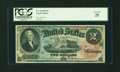 Large Size:Legal Tender Notes, Fr. 42 $2 1869 Legal Tender PCGS Very Fine 25....