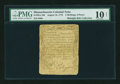 Colonial Notes:Massachusetts, Massachusetts August 18, 1775 2s6d PMG Very Good 10 NET....