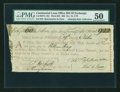 Colonial Notes:Continental Congress Issues, Continental Loan Office Bill of Exchange Third Bill- $60 Oct. 19,1779 Anderson US-99/PA-10A. PMG About Uncirculated 50....