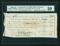 Colonial Notes:Continental Congress Issues, Continental Loan Office Bill of Exchange Second Bill- $60 Oct. 21,1778 Anderson US-99/MA-5A. PMG Very Fine 30....