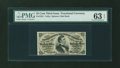 Fractional Currency:Third Issue, Fr. 1291 25¢ Third Issue PMG Choice Uncirculated 63 EPQ....