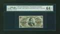 Fractional Currency:Third Issue, Fr. 1295 25¢ Third Issue PMG Choice Uncirculated 64 EPQ....