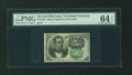 Fractional Currency:Fifth Issue, Fr. 1264 10¢ Fifth Issue PMG Choice Uncirculated 64 EPQ....