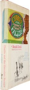 Books:First Editions, Roald Dahl. Charlie and the Chocolate Factory. Illustratedby Joseph Schindelman. New York: Alfred A. Knopf, [19...