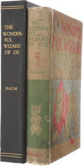Books:Children's Books, L. Frank Baum. The Wonderful Wizard of Oz. Chicago and NewYork: George M. Hill Company, 1900....