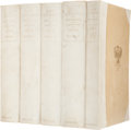 Books:First Editions, Miguel de Cervantes. The History of the Valorous and WittyKnight-Errant Don Quixote of the Mancha. New York: Ch...(Total: 5 Items)