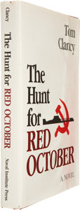 Books:Signed Editions, Tom Clancy. The Hunt For Red October. Annapolis: NavalInstitute Press, 1984. First edition, first issue with on...