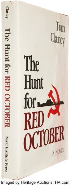 Tom Clancy  The Hunt For Red October  Annapolis: Naval