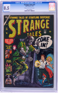 Golden Age (1938-1955):Horror, Strange Tales #24 (Atlas, 1953) CGC VF+ 8.5 Cream to off-whitepages....