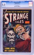 Golden Age (1938-1955):Horror, Strange Tales #28 (Atlas, 1954) CGC FN- 5.5 Cream to off-whitepages....