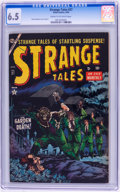 Golden Age (1938-1955):Horror, Strange Tales #27 (Atlas, 1954) CGC FN+ 6.5 Cream to off-whitepages....