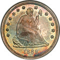 Seated Quarters, 1889 25C MS66 NGC....