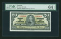 Canadian Currency: , BC-25c $1 1937.. ...