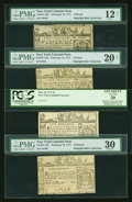 Colonial Notes:New York, Wonderful Quartet of February 16, 1771 New York Colonial Notes. ...(Total: 4 notes)