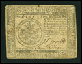 Colonial Notes:Continental Congress Issues, Continental Currency November 2, 1776 $5 Fine+....