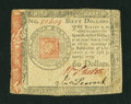 Colonial Notes:Continental Congress Issues, Continental Currency January 14, 1779 $60 Very Fine+....