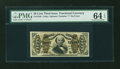 Fractional Currency:Third Issue, Fr. 1326 50¢ Third Issue Spinner PMG Choice Uncirculated 64 EPQ....