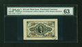 Fractional Currency:Third Issue, Fr. 1254SP 10¢ Third Issue Wide Margin Face PMG Choice Uncirculated63....