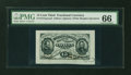 Fractional Currency:Third Issue, Fr. 1274SP 15¢ Third Issue Wide Margin Face PMG Gem Uncirculated 66....