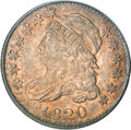 Bust Dimes, 1820 10C Medium 0 MS63 PCGS....