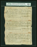 Colonial Notes:Continental Congress Issues, Continental Loan Office Bills of Exchange Second, Third &Fourth Bills- $24 May 11, 1779 Anderson US-96/VA-13A. PMG Fine 12NE...