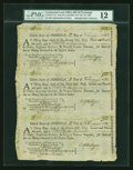 Colonial Notes:Continental Congress Issues, Continental Loan Office Bills of Exchange Second, Third & Fourth Bills- $18 Feb. 18, 1782 Anderson US-95/CT-1C. PMG Fine 12....