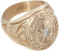 Baseball Collectibles:Others, 1927 New York Yankees World Championship Replica Ring....