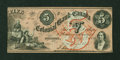 Canadian Currency: , Toronto, CW- The Colonial Bank of Canada $5 May 4, 1859 Ch. # 130-10-04-10. ...
