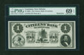 Obsoletes By State:Louisiana, New Orleans, LA- The Citizens' Bank of Louisiana $1 G2. ...