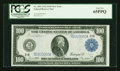 Large Size:Federal Reserve Notes, Fr. 1091 $100 1914 Federal Reserve Note PCGS Gem New 65PPQ....