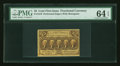Fractional Currency:First Issue, Fr. 1279 25¢ First Issue PMG Choice Uncirculated 64 EPQ....