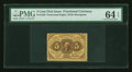 Fractional Currency:First Issue, Fr. 1228 5¢ First Issue PMG Choice Uncirculated 64 EPQ....
