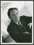 "Movie Posters:Miscellaneous, Spencer Tracy by Clarence Sinclair Bull (MGM, 1937). Portrait Still(10"" X 13""). Miscellaneous.. ..."