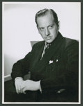 "Movie Posters:Miscellaneous, Melvyn Douglas by Laszlo Willinger (MGM, 1938). Portrait Still (8""X 10""). Miscellaneous.. ..."