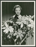 """Movie Posters:Miscellaneous, Sylvia Sidney by Eugene Robert Richee (Paramount, 1930s). Still(10"""" X 13""""). Miscellaneous.. ..."""