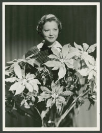 "Sylvia Sidney by Eugene Robert Richee (Paramount, 1930s). Still (10"" X 13""). Miscellaneous"