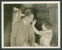 "Norma Shearer and Monte Blue in ""Lucretia Lombard"" (Warner Brothers, 1923). Still (8"" X 10""). Drama..."
