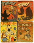 Golden Age (1938-1955):Miscellaneous, Big Little Book Group (Whitman, 1930s) Condition: Average GD....
