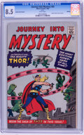 Silver Age (1956-1969):Superhero, Journey Into Mystery #83 Golden Record Reprint (w/o record) (Marvel, 1966) CGC VF+ 8.5 White pages....