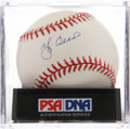 Autographs:Baseballs, Yogi Berra Single Signed Baseball PSA NM-MT 8.5. ...