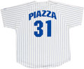 Autographs:Jerseys, Mike Piazza Signed Jersey. ...
