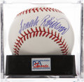 Autographs:Baseballs, Frank Robinson Single Signed Baseball PSA Mint+ 9.5. ...