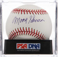 Autographs:Baseballs, Moose Skowron Single Signed Baseball PSA Mint+ 9.5. ...