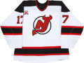 Hockey Collectibles:Uniforms, 2006-07 Mike Rupp New Jersey Devils Game Worn Jersey....
